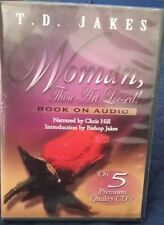 RARE FIND》Woman, Thou Art Loosed! Book on Audio T.D. Jakes》5 Cds