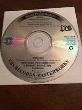 Classical CD Bernstein New York Philharmonic: Grieg Peer Gynt Suites, Sibelius