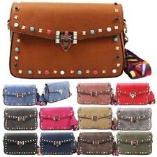 Faux Leather Crossbody Handbags