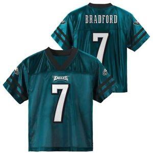 Sam Bradford NFL Philadelphia Eagles Youth Boys Replica Jersey SZ (S-XL)