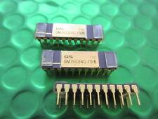 GM76C64C-70B, Raro Coleccionable Gold Top y las piernas IC, principios de SRAM, 64KX1,