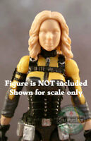 "FH075 Custom Cast Female head sculpt use w/3.75"" Star Wars Marvel GI Joe figures"