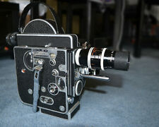 Bolex H16 Reflex 16mm cine camera with Kern Palliard standard & telephoto lenses