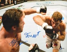 Forrest Griffin & Stephan Bonnar Signed 11x14 Photo BAS COA UFC Ultimate Fighter