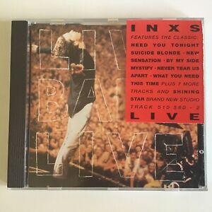 INXS CD Live Baby Live 510 580-2 1991 Arena Rock VG++