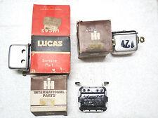 LUCAS NOS INTERNATIONAL VOLTAGE REGULATOR IH 2300A B250 B275 B276 B414 B434 354