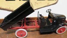 "RARE VINTAGE 24"" / 60CMS BUDDY L TIP TRUCK, PRESSED STEEL, BEAUTIFULLY RESTORED."