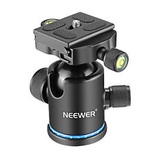 "Neewer 360° Rotating Tripod Panoramic Ball Head with 1/4"" Srew and Bubble Level"