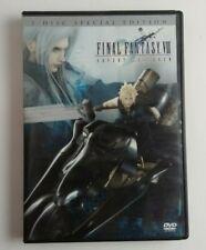 Final fantasy VII Advent Children Dvd Movie 2 Disk Special Edition