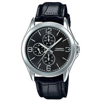 Casio MTP-V301L-1A  Men's Watches Casio Analog Leather Band
