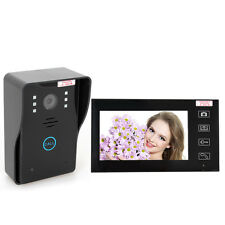 7 inch LCD Display Wireless Video Doorbell Intercom Home Security Entry Monitor
