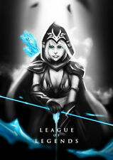 "193 League of Legends - Hot Online Video Game 14""x20"" Poster"