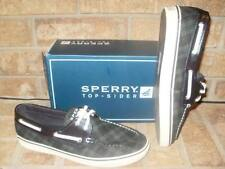 NEW SPERRY TOP-SIDER BISCAYNE NAVY/GREEN PLAID BOAT SHOE 9.5 M/ 9777574/$80