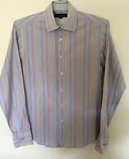 Cotton Blend Striped Casual Shirts for Men
