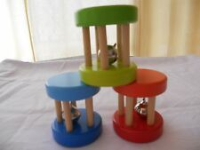 Wooden Musical Baby Rattle