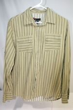 Diesel Western Pearlized Snap Buttons Mens M Long Sleeve Shirt