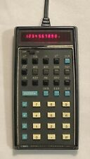 Vintage HP-35 LED Scientific Calculator w/ AC Adapter Case