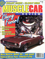 Muscle Car Review Magazine January 1990 Chevy Fever! EX 021216jhe