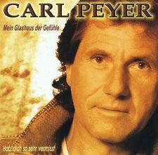 Carl Peyer - Mein Glashaus der Gefühle - CD Album NEU -