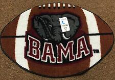 "University of Alabama ""BAMA"" Football Rug"