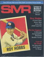 SMR Sports Market Report PSA/DNA Guide Magazine ROY HOBBS  MAR.2017 NEW
