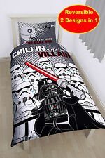 NEW LEGO STAR WARS 'VILLAINS' SINGLE DUVET QUILT COVER SET BOYS KIDS BEDROOM