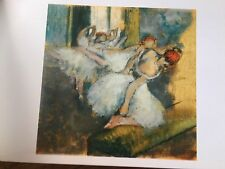 Impressionist Painting Postcard National Gallery London Ballet Dancers E Degas
