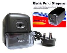 Heavy Duty Electric Pencil Sharpener Automatic Desktop Sharpner Habercrafts 5151