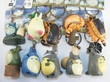 New  TOTORO Set of 10 Assorted  Key Rings Charm Clip On Stocking Stuffer gift