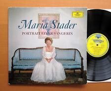 DG 135 063 Maria Stader Portrait Einer Sangerin TULIP Stereo Vinyl NM/VG
