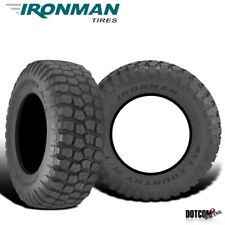 2 X New Ironman All Country M/T 315/75/16 127/124Q Mud Terrain Tire