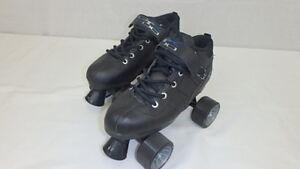 Brand New Black Pacer Mach-5 GTX500 Quad Speed Roller Skates