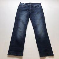 "Joes Dark Wash Straight + Narrow Fit Jeans Size 30 Hemmed 27"" Inseam A1347"