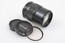 EXC++ MINOLTA MD CELTIC 135mm f3.5 LENS MINOLTA MD MOUNT, w/CAPS +MINOLTA 1A