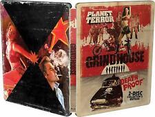 Grindhouse Blu-ray Collectors Edition Steelbook Planet Terror / Death Proof