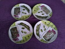 "ANTICA FORNACE Ceramiche Da Tavola Asparagus Salad Plates 8.5"""
