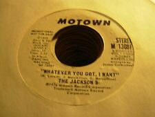 JACKSON 5 whatever you got i want ( r&b ) - PROMO - TOP COPY -