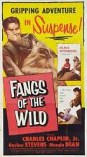 Follow the Hunter (Fangs of the Wild) 1954 16mm B&W Charles Chaplin, Jr. Debut