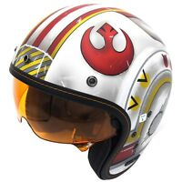 HJC IS-5 Star Wars X-Wing Fighter Three Quarter Mens DOT Motorcycle Helmets