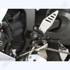 R&G CRASH PROTECTORS BOBBINS AERO STYLE KAWASAKI ZX6R 636  CP0329BL BLACK