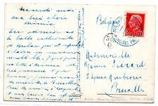 HOTELS-ALBERGHI , 1936 ,  MILANO - HOTEL PRINCIPE di SAVOIA , card x BELGIO .