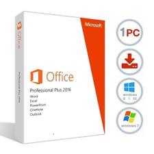 Microsoft Office 2016 Professional Plus 32/64 Bit 1PC Product Activation Key