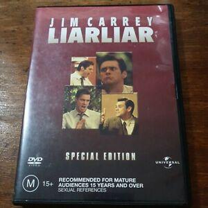 Liar Liar SPECIAL EDITION DVD R4 Like New! FREE POST