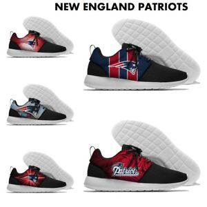 NEW ENGLAND PATRIOTS Men's Women's Lightweight Shoes Sneakers Football Team NEW