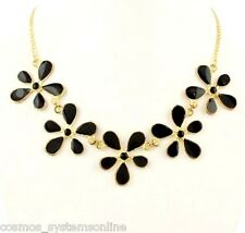 Cosmos Highly Fashionable Necklace For Girls/Woman Gold Black Minha Antique