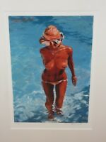 Rolf Harris, The Straw Hat limited edition print