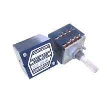 10pcs Japan ALPS RK27 VOLUME potentiometer Dual A100K knurled 25mm