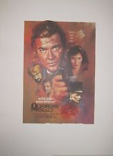 JAMES BOND OCTOPUSSY OFFICIALLY LICENSED LTD ED LITHOGRAPH