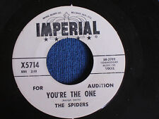 The Spiders/You're the One-Tennessee Slim/1960 Original/WLP/Imperial X5714/MINT-