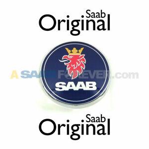 SAAB 9-3 9-5 9-7x 9-4x HOOD EMBLEM GRIFFIN NEW GENUINE OEM 12844161